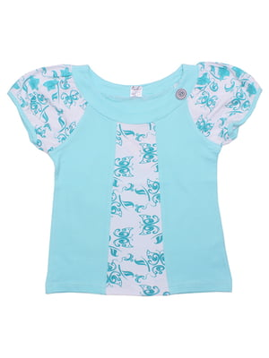 Блуза бірюзова | 5248670