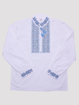 Рубашка-вышиванка белая | 5248727