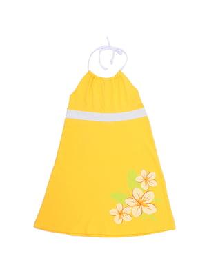 Сарафан желтый | 5248948