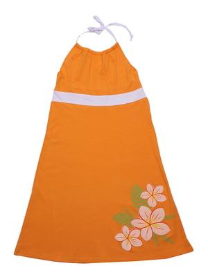 Сарафан оранжевый | 5248982
