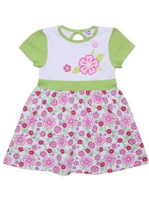 Платье салатовое | 5248989