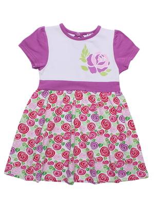 Платье с цветочным принтом | 5248996