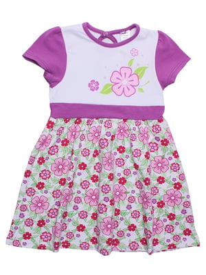 Платье с цветочным принтом | 5248997