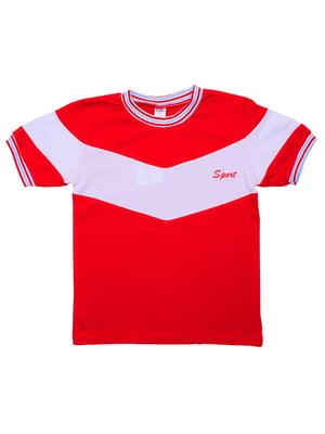 Футболка червона | 5249133