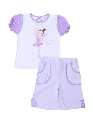 Комплект: футболка и шорты | 5249193