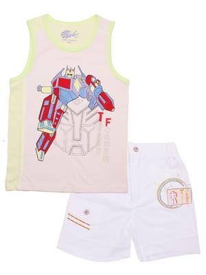 Комплект: майка и шорты | 5249252