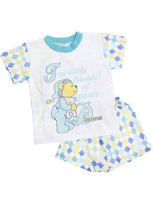 Комплект: футболка и шорты | 5249280