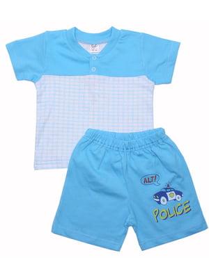 Комплект: футболка и шорты | 5249303