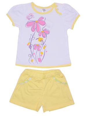 Комплект: футболка и шорты | 5249317