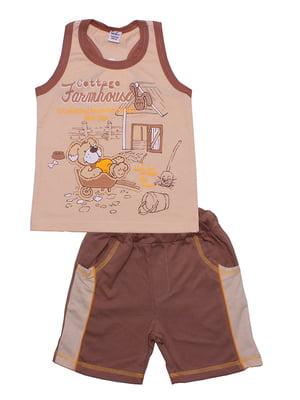 Комплект: майка и шорты | 5249344