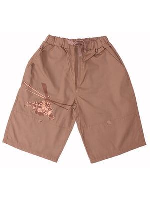 Шорти коричневі | 5249594