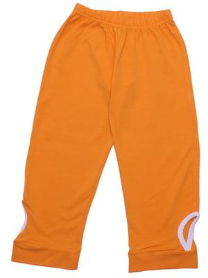 Брюки оранжевые | 5249675