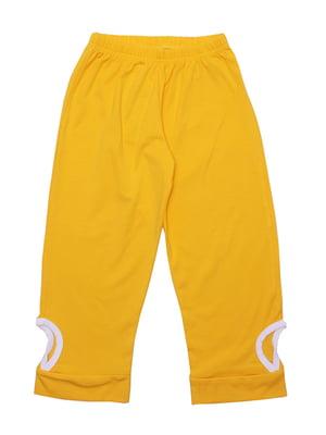 Брюки желтые | 5249680