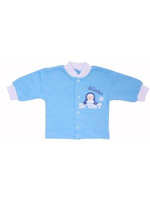 Кофточка голубая | 5249766