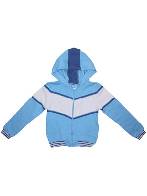Толстовка голубая | 5249857