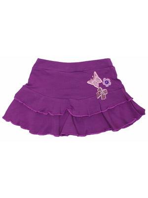 Юбка фиолетовая | 5249879