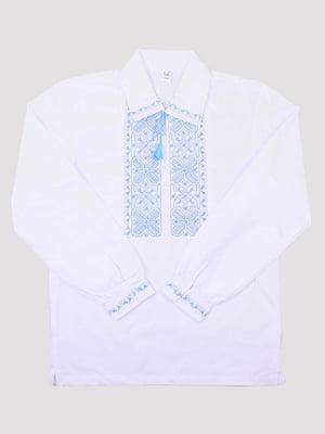 Рубашка-вышиванка белая | 5249904