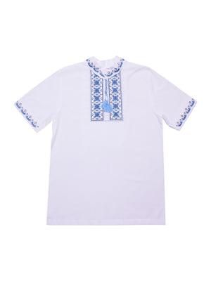 Рубашка-вышиванка белая | 5249905