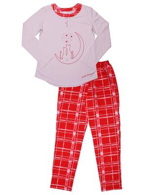 Пижама: джемпер и брюки | 5249940