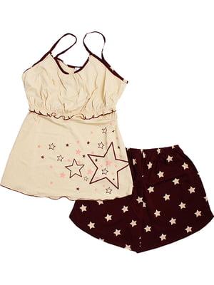Комплект: майка и шорты | 5249949