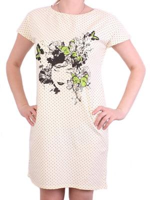 Платье молочного цвета | 5249994
