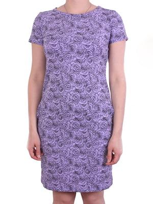 Платье сиреневое | 5249995