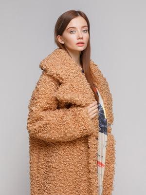Пальто коричневое | 5242220