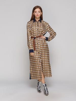Платье в принт | 5233262