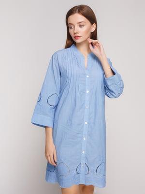 Платье голубое | 5218692