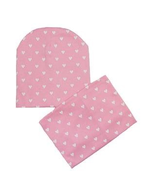 Комплект: шапка и шарф-снуд   5252082