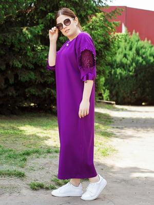 Сукня фіолетова | 5252145