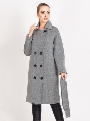Пальто серое | 5080023