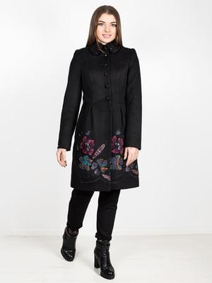 Пальто черное | 5252125