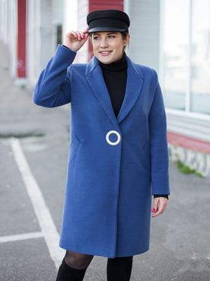 Пальто синее | 5252124