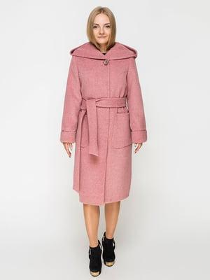 Пальто цвета пудры | 5252115