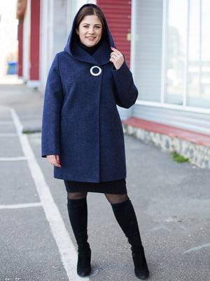 Пальто черничного цвета | 5252120