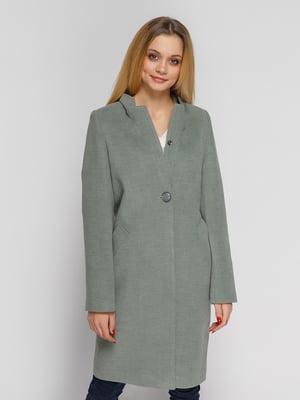 Пальто оливкового цвета | 5252154