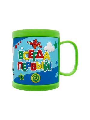 Чашка зелена | 5252170