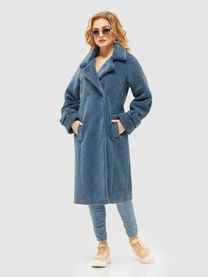 Пальто блакитне | 5252562