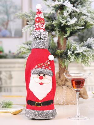 Новогодние украшения для бутылок | 5252688