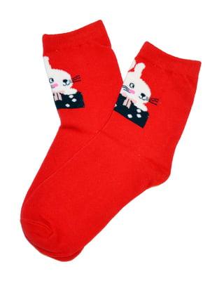Шкарпетки червоні | 5252734