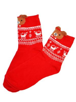 Шкарпетки червоні | 5252737