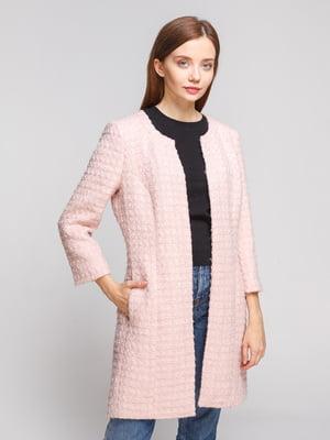 Пальто світло-рожеве | 5251703