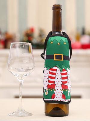 Новогоднее украшение для бутылок | 5252653