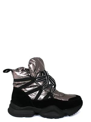 Ботинки стального цвета | 5253013