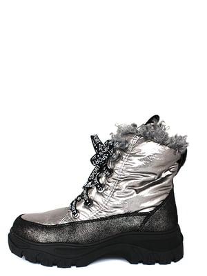 Ботинки серебристые | 5253019