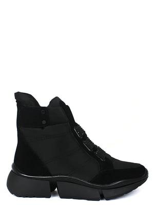 Ботинки черные | 5253022