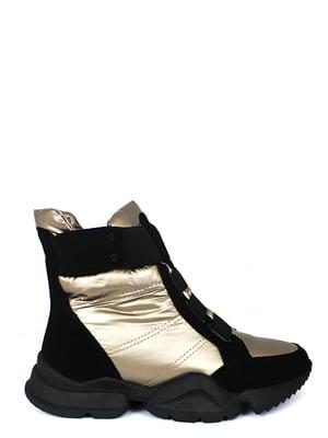 Ботинки золотистые | 5253011