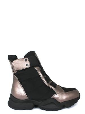 Ботинки черные | 5253012