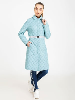 Пальто бирюзовое | 5080060